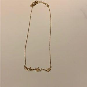 OHH LA LA necklace KATE SPADE